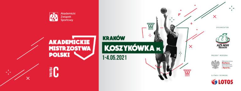 AMP koszykówka mężczyzn 2021 plakat AZS